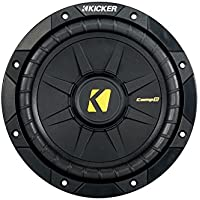 Kicker 40CWD84 8 CompD Car Subwoofer - Each (Black)