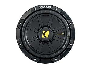 "Kicker 40CWD82 CompD 8"" Car Subwoofer - Each (Black)"