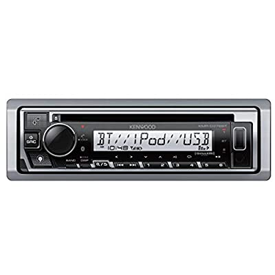 Kenwood KMR-D378BT Marine CD Receiver with Alexa, Bluetooth, Aux and USB Interface: Car Electronics