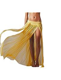 Womens Sexy Mesh Maxi Bohemian Skirt Cool Swimwear Beachwear Cover Ups