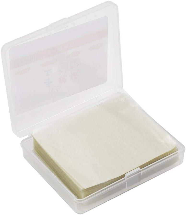 Papel de turrón - 500 piezas Papel de turrón ecológico Papel de oblea de arroz comestible Hojas de envoltura de caramelo hechas a mano: Amazon.es: Hogar
