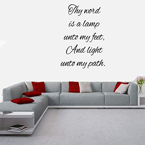 Thy Word Is A Light To My Path in US - 2
