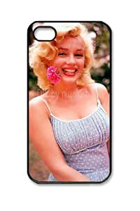Iphone 4 4S Case Marilyn Monroe M080 Hard Case Skin For iPhone 4