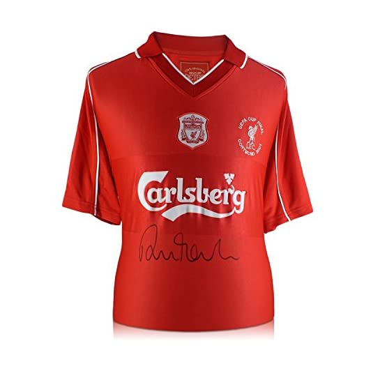 Exclusive Memorabilia Robbie Fowler Maillot de Liverpool avec Broderie commémorative