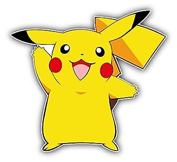 Dessin Animé Pokémon Pikachu Autocollant De Pare Chocs De
