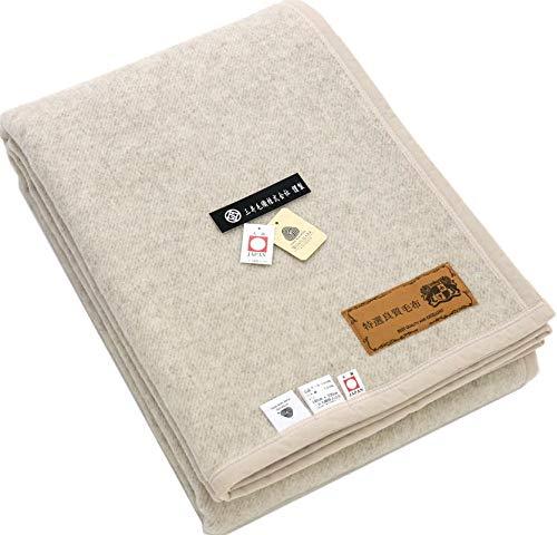 三井毛織 洗えるウール毛布