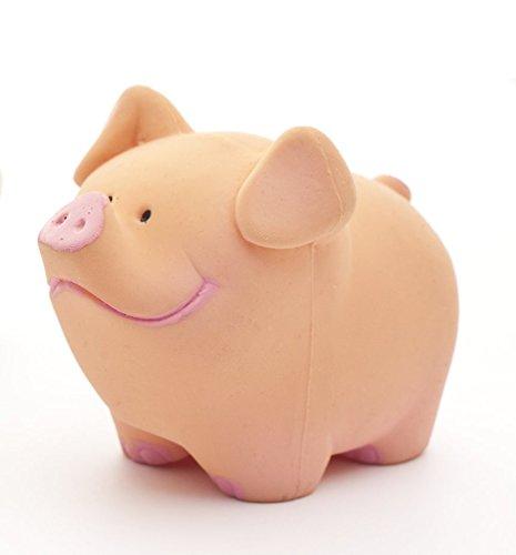 Juguete de goma natural PIG.: Amazon.es: Bebé