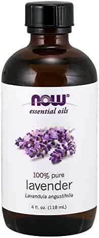 NOW Solutions Lavender Essential Oil, Floral , 4-Ounce