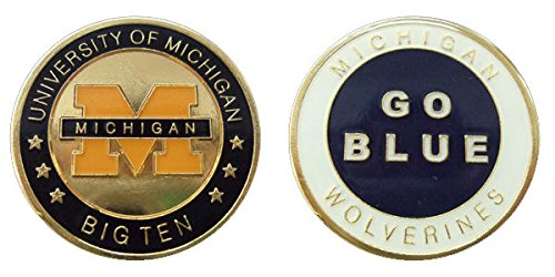 Logo Challenge Coin - University of Michigan