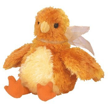 Amazon.com  Ty Beanie Babies - Chickie the Chick  Toys   Games 7e5077d9381