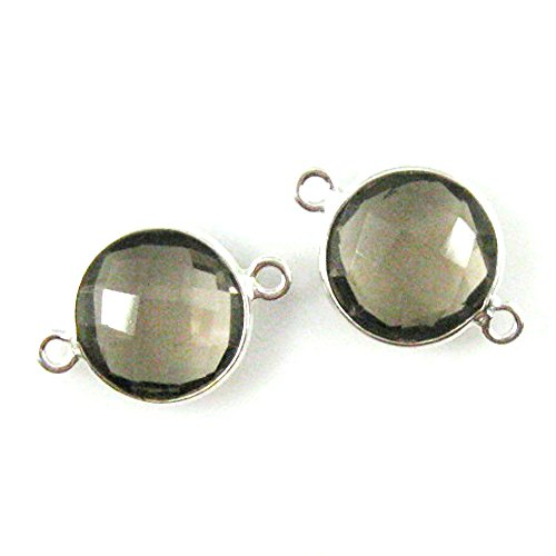 12mm Faceted Coin - 4