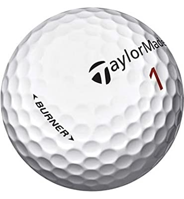 Taylormade Burner AAAA Near Mint Recycled Golf Balls, 24-Pack
