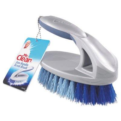 - Mr. Clean 442402 Iron Handle Brush, 6-1/2