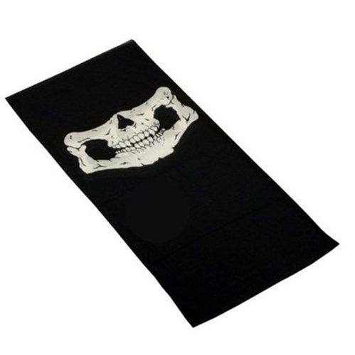 Bestpriceam Bicycle Ski Skull Half Face Mask Ghost Scarf Multi Use Neck Warmer COD