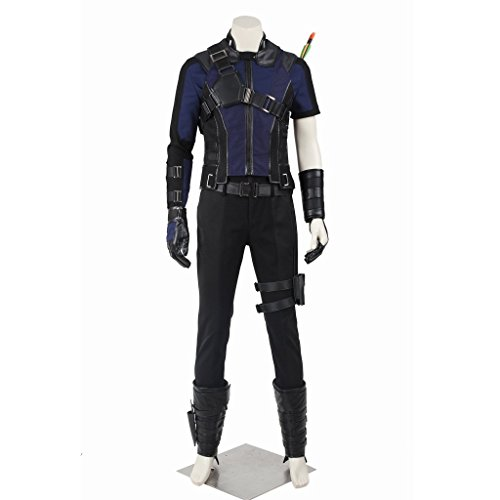 CosplayDiy Men's Suit for Captain America Civil War Hawkeye Cosplay M ()