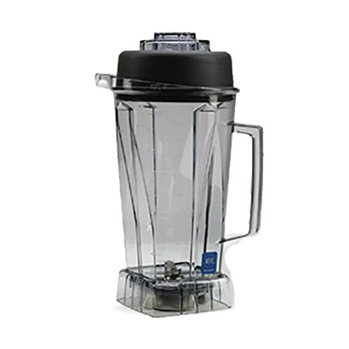 - Vitamix 212-1003 756 64 oz Commercial NSF Container with Ice Blade and Lid, 64oz Black