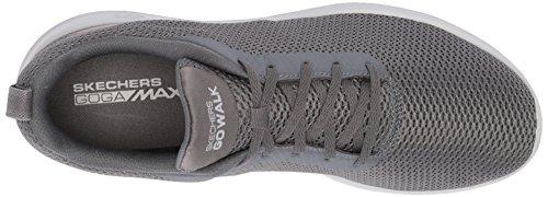 Skechers Hombre Zapatillas Charcoal Walk MAX Go Gris para Effort P1Pr4wq