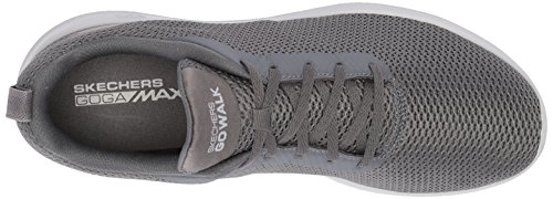 Charcoal Go Sneaker Max Grigio Skechers Effort Walk Uomo aw0xTq