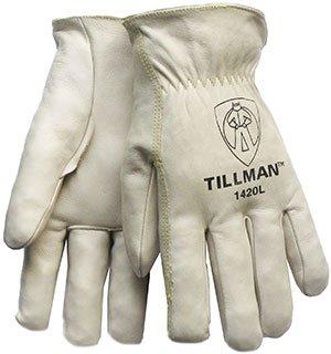 XL 1420 Top-Grain Cowhide Drivers Gloves (8 Pairs) - R3-1420XL