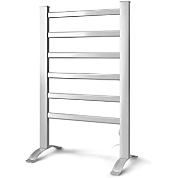towel warmer rack. INNOKA 2-in-1 Freestanding \u0026 Wall Mounted Heated Towel Warmer Drying Rack R