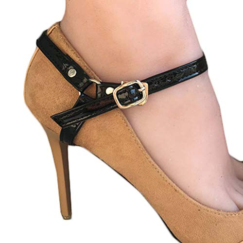 Women's Non-slip Shoe Straps High Heels Shoelace Accessories Shoe Decoration Belts, B21