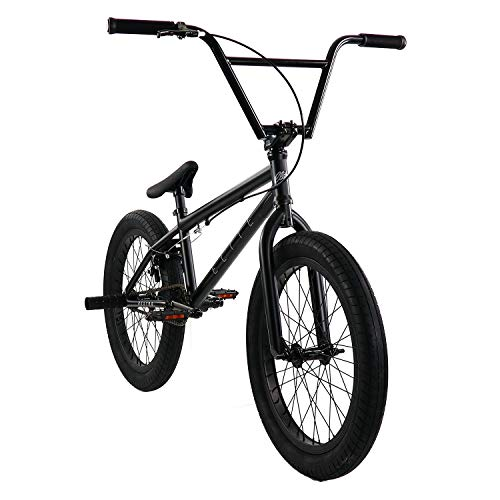 "(Elite 20"" BMX Bicycle Destro Model Freestyle Bike (Black Grey))"