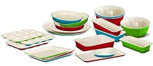 casaWare Ceramic Coated Non-Stick Mini Muffin Pan