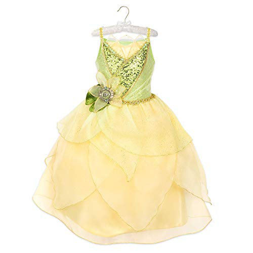 (Disney Tiana 10th Anniversary Costume for Kids - The Princess and The Frog Size 4)