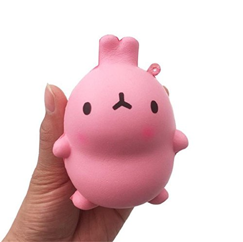 Yamally_9R 9cm Squishy Easter Cute Bunny Doll Scented