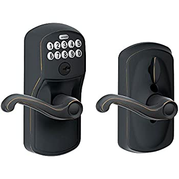 Schlage Z Wave Home Keypad Lever Works With Amazon Alexa