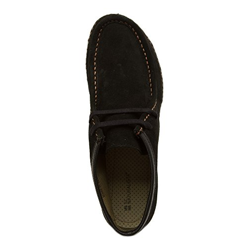 N913 El Lux Womens Naturalista Ankle Black Boot Angkor Suede AA5qr