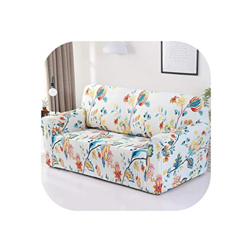 Spandex Sofa Cover Stretch Couch Sofa Cover Slipcovers Protector Single Loveseat Sectional Sofa Cover Christmas Decoration Gift,Color 2,1-Seater 90-140Cm,China ()