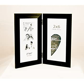 Amazon.com - Photo Booth frame, displays two 2x6 inch photo booth ...