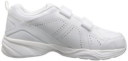 New Balance KV624 Hook and Loop Training Shoe (Little Kid/Big Kid) White