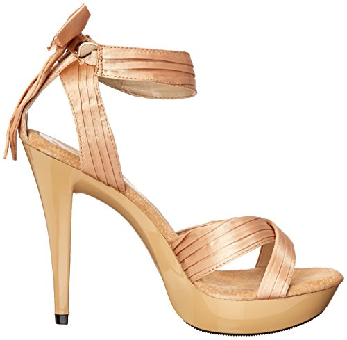 Favolosa Donna Cocktail 568 Platform Sandalo Champagne