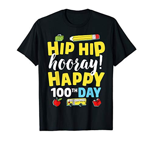 100 Day Of School Shirt Ideas (100th Day of School T Shirt for Teacher Child Happy 100)
