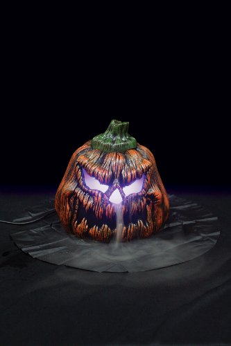 Sinister Pumpkin Mister Creepy Color - Changing Light Effect]()