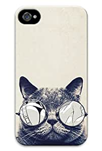 Cool cat kimi raikkonen of pc white protection shell, suitable for Iphone 4 4s