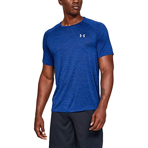 Under Armour mens Tech 2.0 Short Sleeve T-Shirt, Royal (402)/Mod Gray, X-Large Big And Tall Men Shirts