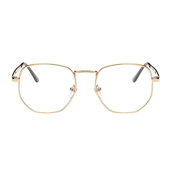 Deylaying Cru Rétro Gros Métal Cadre Myope Des lunettes Petite vue Myopie  Lunettes -1.00-1.50 -2.00-3.50 -4.50-5.50 -6.00 (Ces sont pas lunettes de  ... 52e02ee8a71