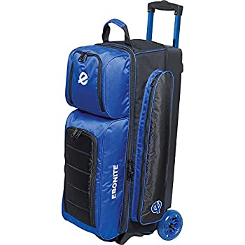 Image of Bowling Roller Bags Ebonite Bowling Products Eclipse Triple Roller- Royal