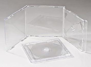 Media Replication Jewel - Caja para 2 CD, DVD (25 unidades ...
