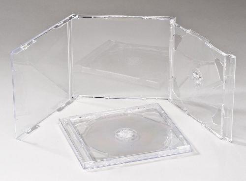 2 opinioni per Vision media 5 x CD Doppia Trasparente per custodia- qualità professionale di