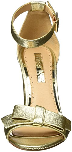 Miss KG Damen Flounce Pumps Gold (Gold)