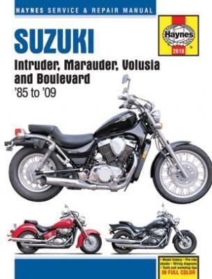 Haynes Manuals MANUAL SUZ INTR/MARUD/VOL/BLVD