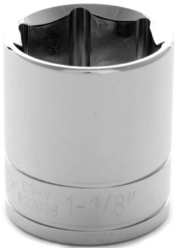 Performance Tool W32036 1/2 Drive 6-Point Socket, 1-1/8