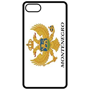 Montenegro Coat Of Arms Flag Emblem Black Apple Iphone 5 Cell Phone Case - Cover