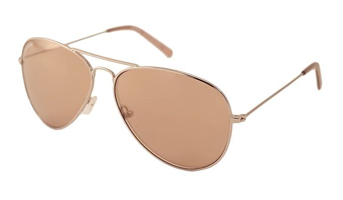 03580b64cfa3 Amazon.com: Michael Kors Sunglasses - M3005S Kennedy Flash / Frame: Rose  Gold Lens: Pink with Rose Mirror: Clothing