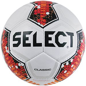 - Select Sport America Classic Soccer Ball, 4, White/Red