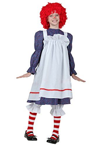 Big Girls' Rag Doll Costume